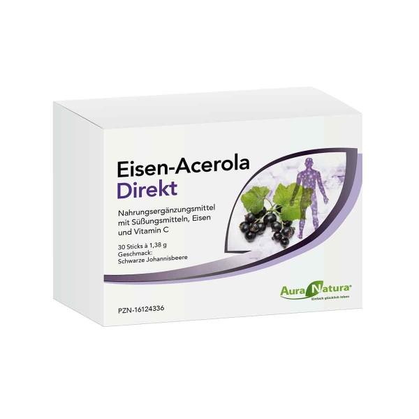 Eisen-Acerola Direktgranulat 30 Sticks AT_1798190_1